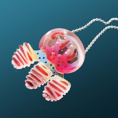 Sulawesi jellyfish necklace