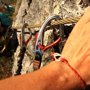 ferrata and the bracelet